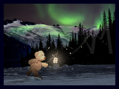 Bear Heading Home Digital Art