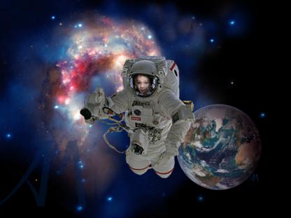 NASA Astronaut Customised Personalised