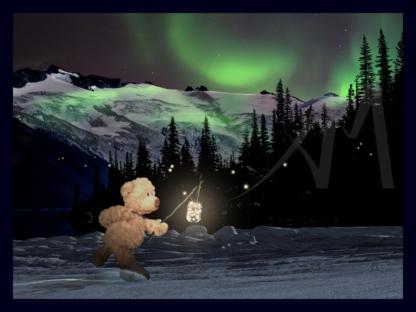 Bear Heading Home Digital Art