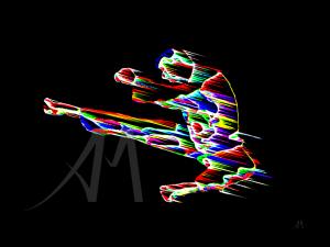 digital sports karate jump